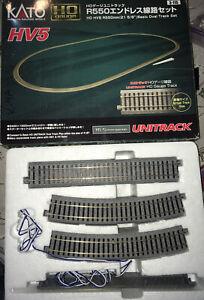 🚂 Kato HO Scale Track Pack HV5 Complete? HtF HO Gauge Unitrack 3-115 L👀K 16.5m