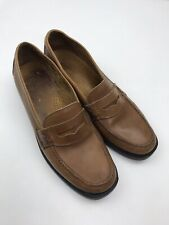 Bass Weejuns Katherine II Penny Loafers Womens 10 M Brown Slip On Shoes Brazil