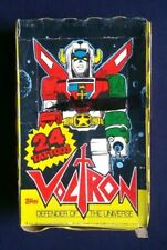 1984 Topps Voltron Defender Of The Universe Tattoos Box ~ 36 Sealed Packs