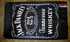 Jack Daniel's Flag Banner 3x5 ft Car Wall Garage Whiskey Tennessee Black