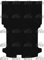 FORD TRANSIT CUSTOM VAN SWB 2013-NOW TAILORED BLACK CARPET REAR FLOOR MAT 1PIECE