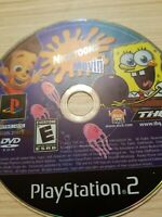 NICKTOONS: MOVIN' (PS2 PLAYSTATION 2) DISC ONLY - TESTED - FAST FREE SHIPPING!