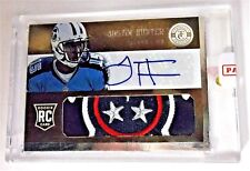 Justin Hunter Titans 2013 Totally Certified RC Prime Patch Auto Rookie 14/25