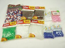 Mixed Lot of Vintage Pony Beads For Crafting Jewelry Making