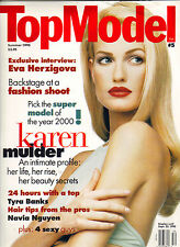 KAREN MULDER Top Model Magzine SUMMER 1995 #5 TYRA BANKS EVA HERZIGOVA