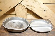 1944 Wwii U.S. Army Issue Stainless Steel Mess Kit Ea Co. *Used* - Swanky Barn