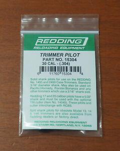 """Redding Trimmer Pilot-.30 Caliber (15304) .304"""" Diameter-(NIP)"""