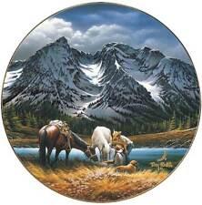 Terry Redlin For Purple Mountain Majesties Plate America the Beautiful Series