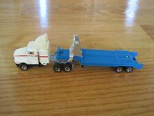 1987 Road Champs NASA Semi-truck Toy Kenworth