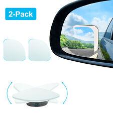 "HD Frameless Blind Spot Mirror - Fan Shaped 2.5"" Convex Glass Wide Angle Mirror"