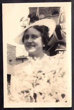 H.M. QUEEN MARY VINTAGE 1939 OFFICIAL SOUVENIR PHOTO DURING 1939 ROYAL VISIT