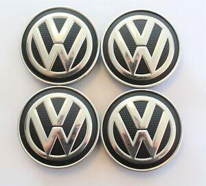 4x VW Golf 7 Tiguan II AD1 uvm Nabendeckel Felgendeckel Radnabendeckel 5G0601171