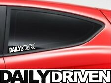 Daily Driven Car Window Bumper  VW FORD AUDI JDM BMW Vinyl Sponsor Decal