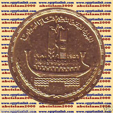 "1981 Egypt Egipto Египет Ägypten Gold Coins "" Suez Canal Nationalization "", 1 P"