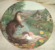 DAVENPORT COLLECTORS PLATE 'OTTERS AT PLAY' BRADEX