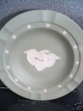 "Wedgwood Jasper Green & White Eagle Dish Ashtray 7"""