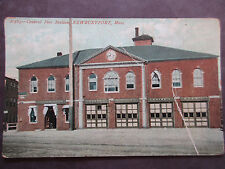 Police Station and Fire Station, 1907-15, Newburyport, Massachusetts, A5877