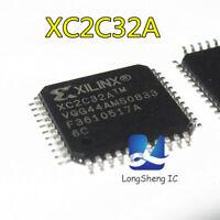 5PCS XC2C32A-6VQG44C IC CR-II CPLD 32MCELL 44-VQFP 2C32 XC2C32 new