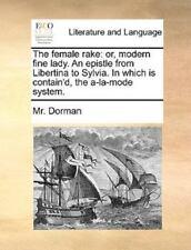 The Female Rake : Or, modern fine lady. an epistle from Libertina to Sylvia....