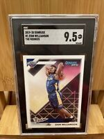 2019 DONRUSS ZION WILLIAMSON RC #1 THE ROOKIES SGC 9.5 MINT + PELICANS PSA 10 ?