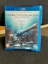 Prometheus To Alien The Evolution Blu-ray 5 Film Collection