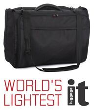 IT Luggage Carry-on Garment Bag / Suit Carrier Black