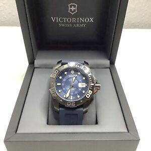 VICTORINOX Dive Master 500 Mechanical Automatic Watch Swiss Army Blue