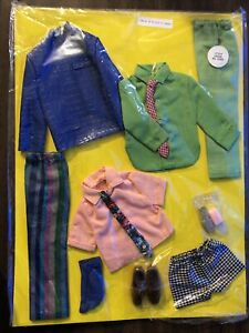 1970'S Ken #1514 Sears Exclusive Outfit Casual All Stars Doll Clothes Barbie NOS