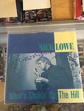 Nick Lowe Autographed What's Shakin' On The Hill Album In Person #4