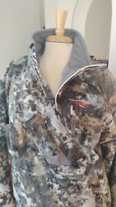 SITKA Fanatic Jacket AND Bibs Size Large Slim Fit MATCHED set