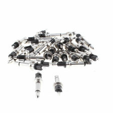 Mono Audio Headphone 2.5mm Male Jack Soldering Connector Black 30pcs