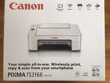NIB Canon TS3166 Wireless Mobile Device Printer Copy & Scan Colour Black/White