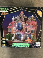 Lemax 75499 DARK HAVEN LODGE Spooky Town Building-no Sound - Read