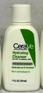 X3 cerave hydrating cleanser for dry to normal skin 1 fl oz (29 ml ) +more gifts