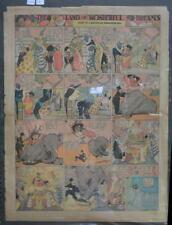 LITTLE NEMO SUNDAY Color Strip 1/19/1913 WINSOR McCAY Land Of Wonderful Dreams
