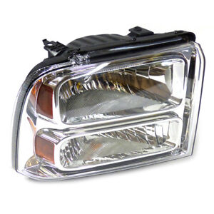 2005-2007 Ford F250 F350 Super Duty Excursion Right Passenger Headlight Lamp OEM