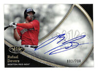 2020 Topps Tier One Rafael Devers 3/200 auto autograph card Red Sox