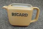 Ancien pichet Ricard , 1 litre d'un ancien bistrot, publicitaire, french antique