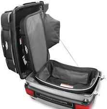 Tbags Black Textile Motorcycle King Boot Case Trunk Bag Harley Touring 104974