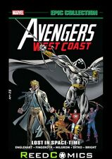 AVENGERS WEST COAST EPIC COLLECTION LOST IN SPACE-TIME GRAPHIC NOVEL (488 Pages)
