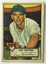 1952 Topps Baseball Card • Joe Hatten • #194