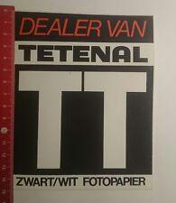 Aufkleber/Sticker: Dealer Van Tetenal Zwart Wit Fotopapier (23011783)