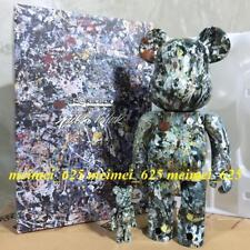Bearbrick Medicom 2018 Jackson Pollock Studio Ver.2 100% 400% Be@rbrick