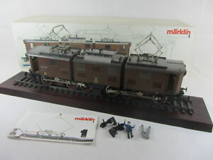 Märklin Spur 1 5516 Elektrolokomotive Br E91 in braun, guter Zustand mit OVP
