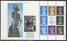 (Ll3) Gb Qeii Stamps.London Life Prestige Booklet Pane ex Dx11 1990