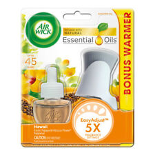 Air Wick Scented Oil Starter Kit (Warmer + 1 Refill) Hawaii Scent, Air Freshener