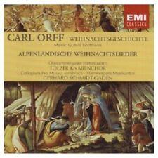 TÖLZER KNABENCHOR - DIE WEIHNACHTSGESCHICHTE  CD KLASSIK CHOR NEW+ ORFF