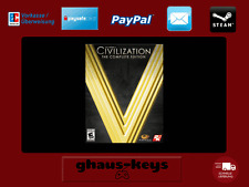 Sid Meier's Civilization V Complete Edition Steam Key Pc Game Code