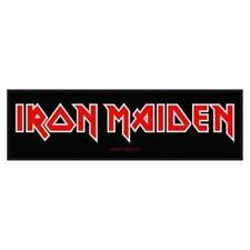 Écussons et drapeaux de collection liés à la musique iron maiden
