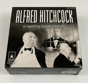 ALFRED HITCHCOCK | Bepuzzled 1000 Piece Jigsaw Puzzle | Factory Sealed